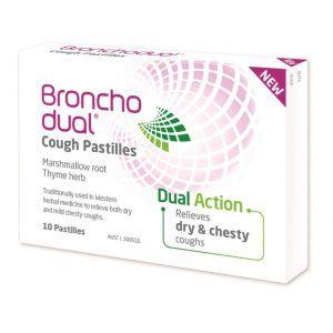 Bronchodual Cough Pastilles 10 Pastilles