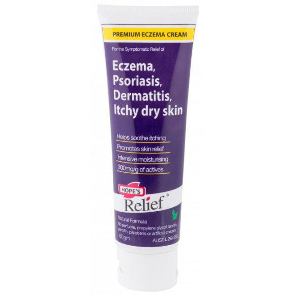 Hope's Relief Premium Eczema Cream Tube 60g