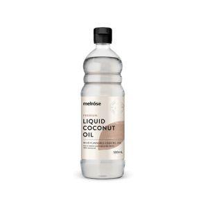 Melrose Premium Liquid Coconut Oil 500mL