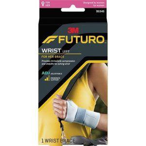 Futuro For Her Slim Silhouette Wrist Support Adjustable Left