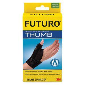 Futuro Deluxe Thumb Stabiliser Black Large – Extra Large