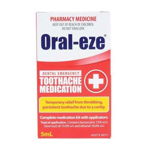 Oral-eze Dental Emergency Toothache Medication 5mL