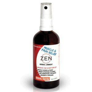 Zen Herbal Liniment Tincture Spray 100mL