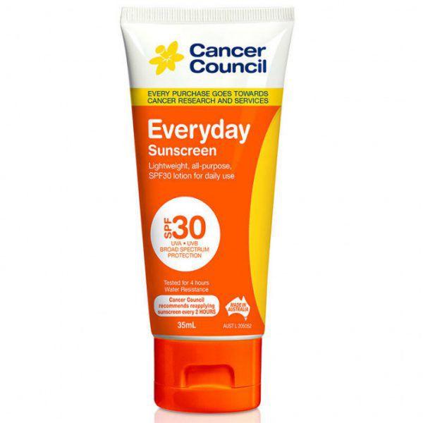 Cancer Council Everyday Sunscreen SPF 30 Tube 35ml