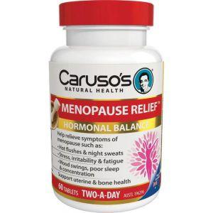 Carusos Menopause Relief 60 Tablets