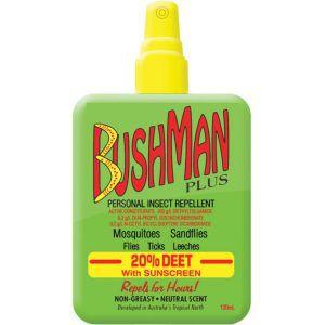 Bushman Insect Repellent 100ml Pump