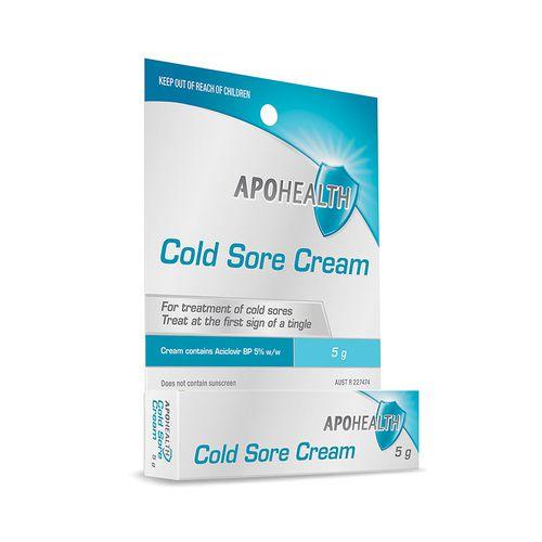 Apohealth Cold Sore Cream 5g