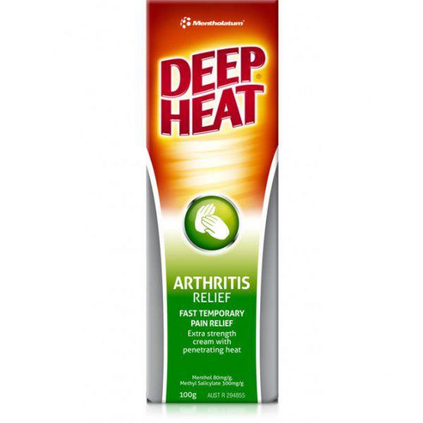 Deep Heat Arthritis Relief 100g