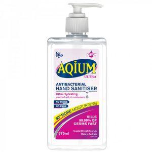 Ego Aqium Ultra Antibacterial Hand Sanitiser 375ml