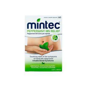 Mintec IBS Relief Capsules 60