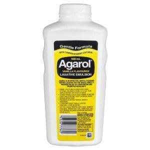 Agarol Vanilla Flavoured Laxative Emulsion 500mL