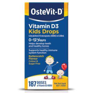 OsteVit-D Vitamin D3 Kids Drops 0-12 Years 15ml