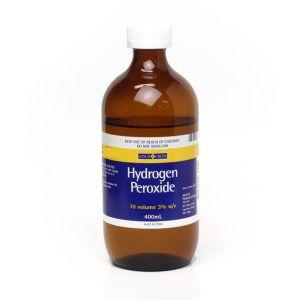 Gold Cross Hydrogen Peroxide 3% 10 Volume 400mL