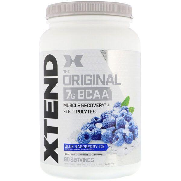Xtend The Original 7G BCAA 90 Servings -Blue Raspberry Ice
