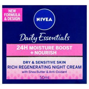 Nivea Daily Essentials Regenerating Night Cream 50ml