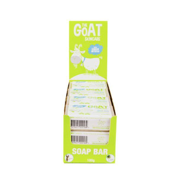 The Goat Skincare Soap with Lemon Myrtle CARTON 12x100g