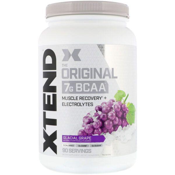 Xtend The Original 7G BCAA 90 Servings -Glacial Grape