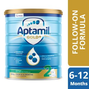 Aptamil Gold+ 2 Baby Follow-On Formula From 6-12 Months 900g