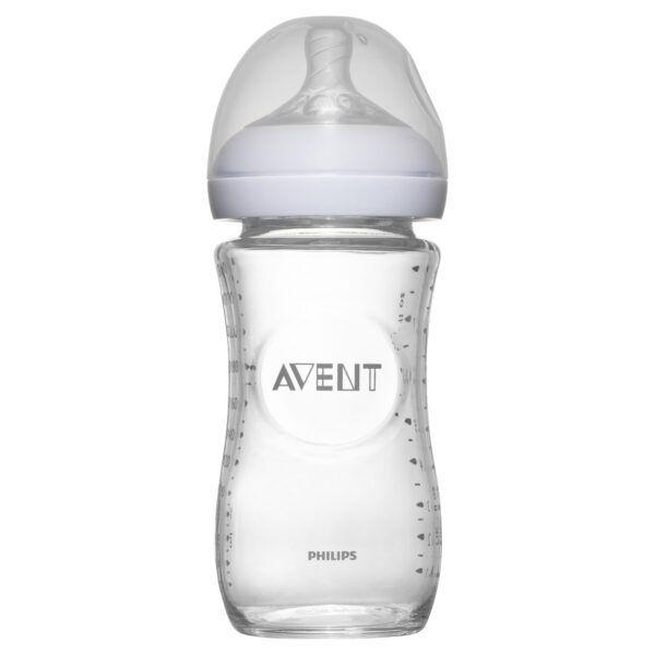 Avent Natural Feeding Bottle 1m+ 240mL