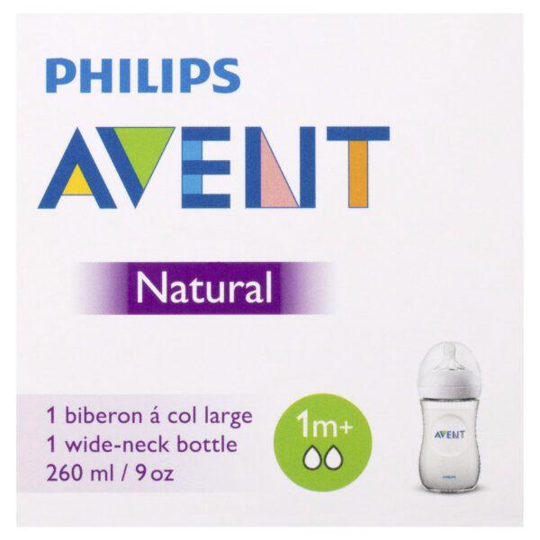 Avent Natural Feeding Bottle 1m+ 260mL