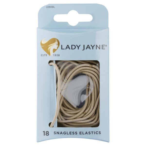 Lady Jayne Blonde Snagless Elastics – Pk18