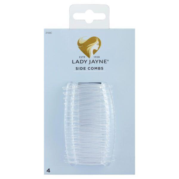 Lady Jayne Crystal Side Combs – 4 Pk