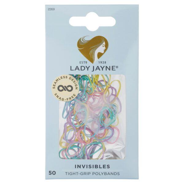 Lady Jayne Pastel Snagless Small Elastomer Elastics – Pk 50