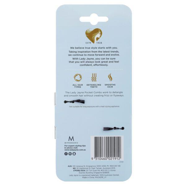 Lady Jayne Pocket Comb – 2 Pk
