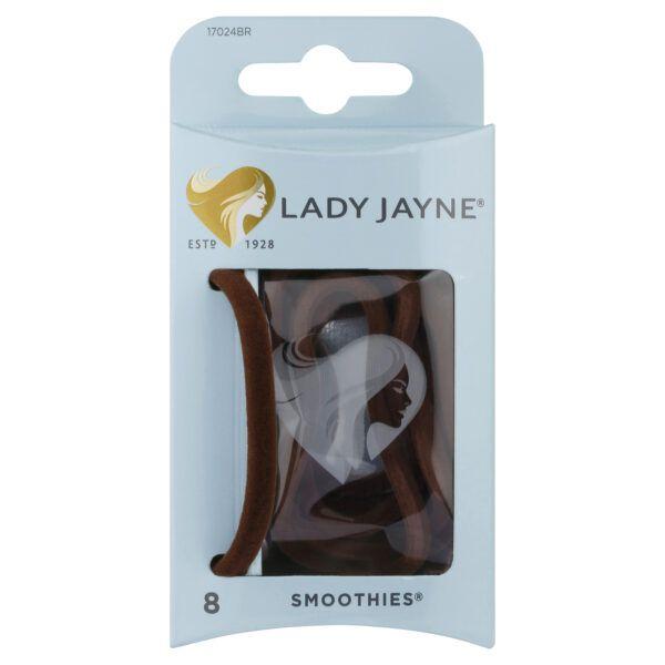 Lady Jayne Smoothies Brown Luxury Elastics – 8 Pk