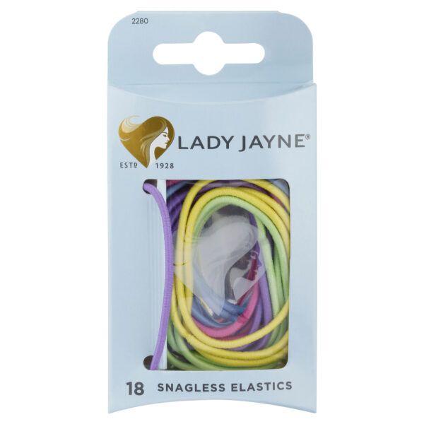 Lady Jayne Snagless Elastics 18 Pack (Assorted)