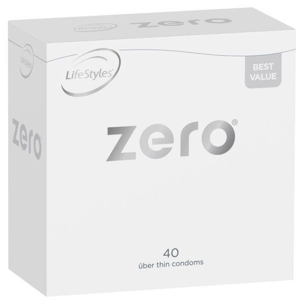 LifeStyles Zero Condoms 40 Pack