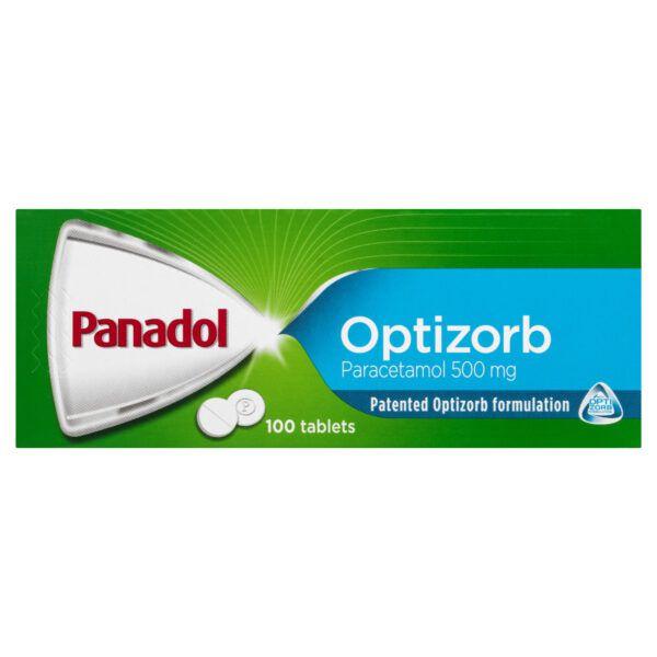 Panadol with Optizorb, Paracetamol Pain Relief Tablets, 100 4