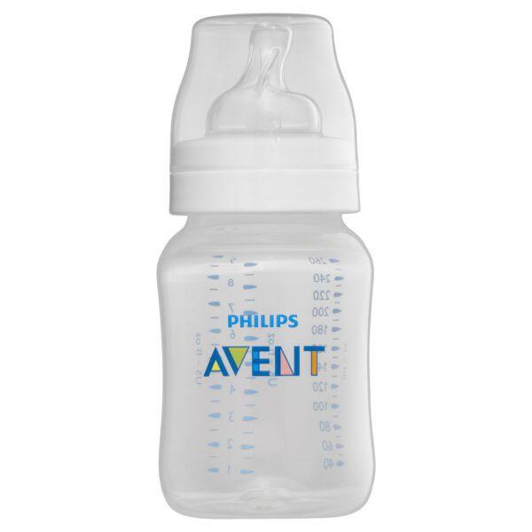 Philips Avent Anti-Colic Bottles 1m+ 3 x 260mL