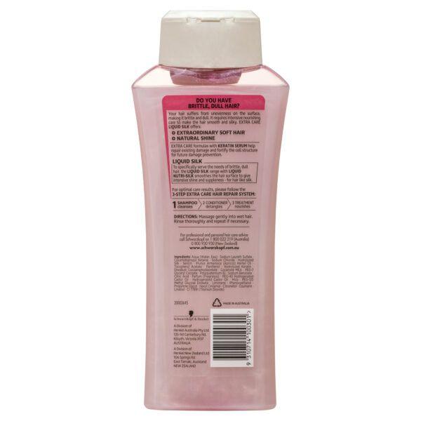 Schwarzkopf Extra Care Liquid Silk Shampoo 400mL