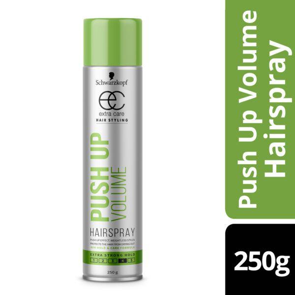 Schwarzkopf Extra Care Push Up Volume Hairspray 250g