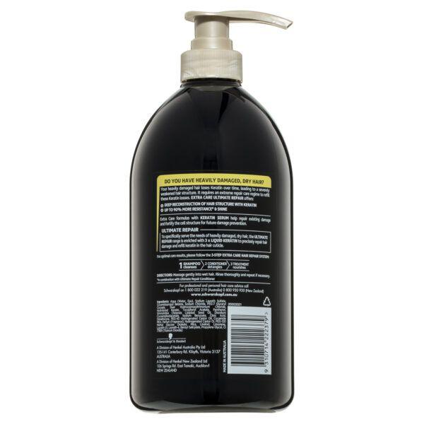Schwarzkopf Extra Care Ultimate Repair Shampoo 900mL 4