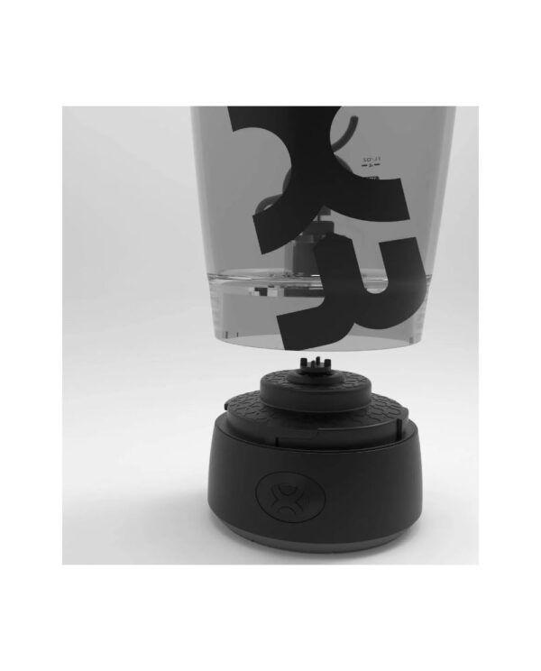 Promixx Miixr Electronic Shaker Bottle 600 ml AA Black
