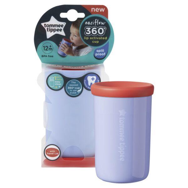Tommee Tippee Easiflow 360° Cup Tumbler Purple