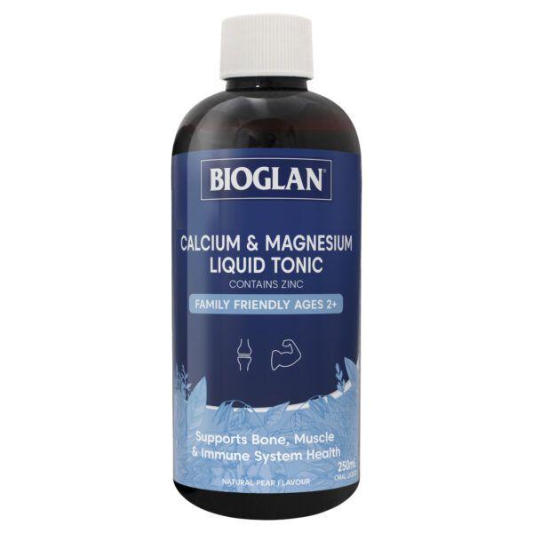 Bioglan Calcium & Magnesium Liquid Tonic 250mL