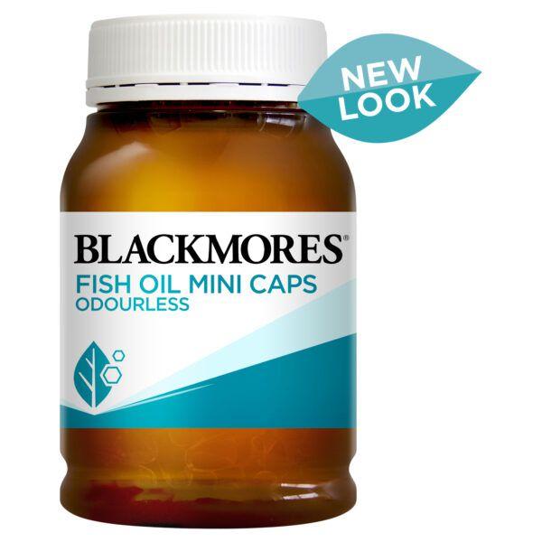 Blackmores Fish Oil Mini Caps Odourless 400 Capsules
