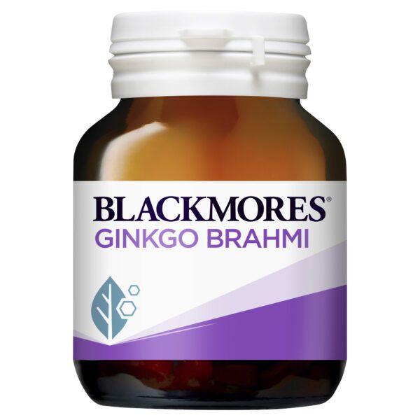 Blackmores Ginkgo Brahmi 40 Tablets