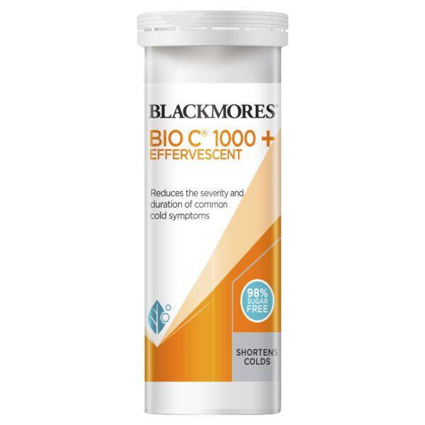 Blackmores Vitamin C 1000+ Effervescent 10 Tablets