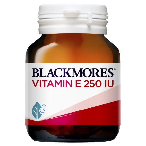 Blackmores Vitamin E 250 IU 50 Capsules