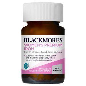 Blackmores Women's Premium Iron 30 Tablets
