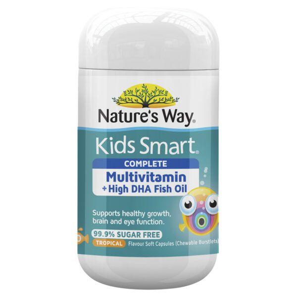 Nature's Way Kids Smart Complete Multivitamin Soft Capsules