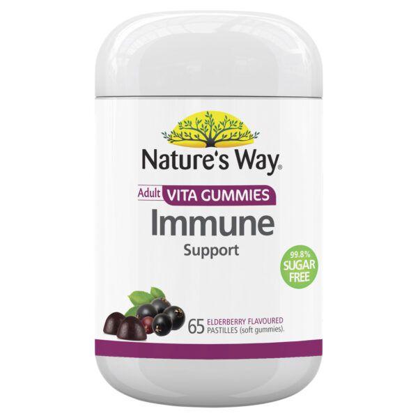 Nature's Way Adult Vita Gummies Immune Support 99% Sugar Free 65s