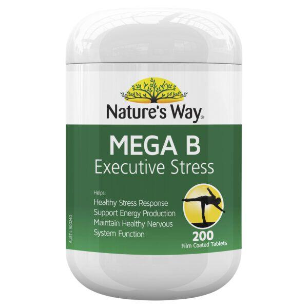 Nature's Way Mega B 200 Tablets