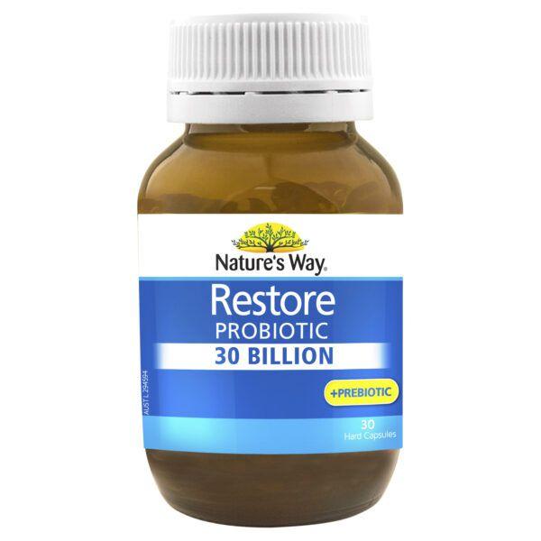 Nature's Way Restore Probiotic 30 Billion 30 Capsules