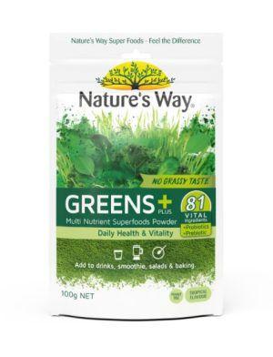 Nature's Way Super Green Plus 100g