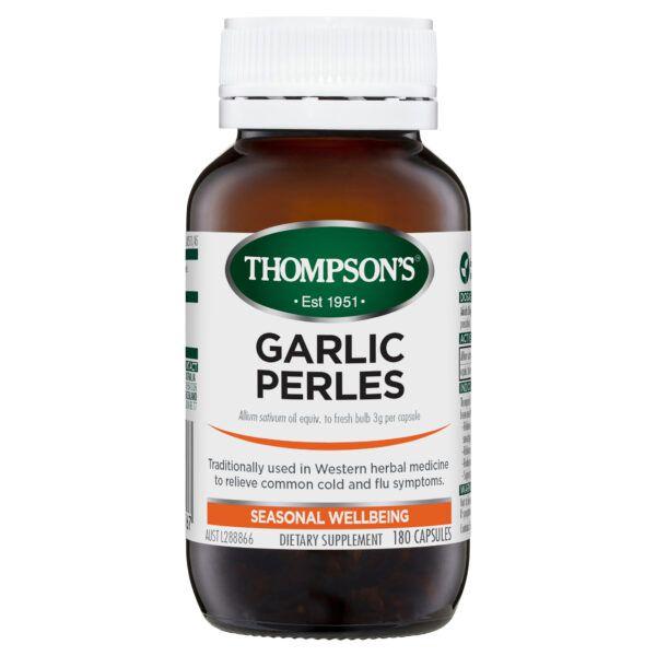 Thompson's Garlic Perles 180 caps